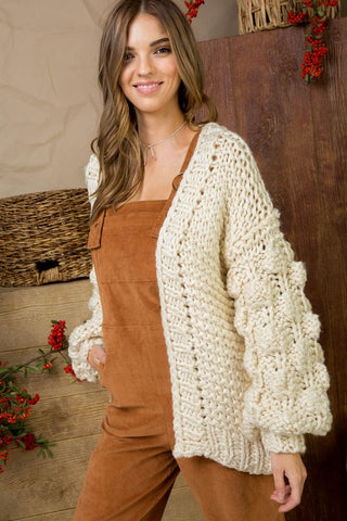The Ivory Cloud Cardigan