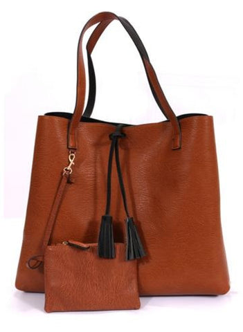 The Allie Reversible Tote-3 Colors
