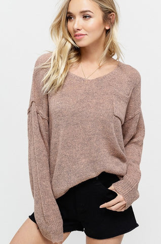 The Marley Sweater Top-3 Colors
