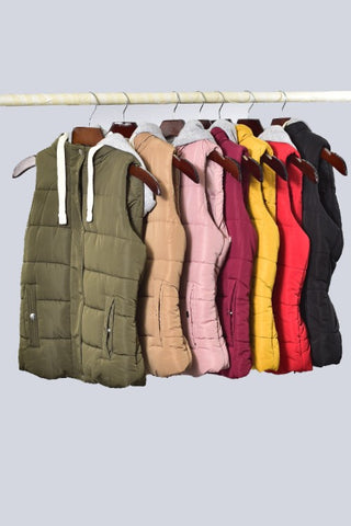 Your FAV Fall Vest-7 Colors