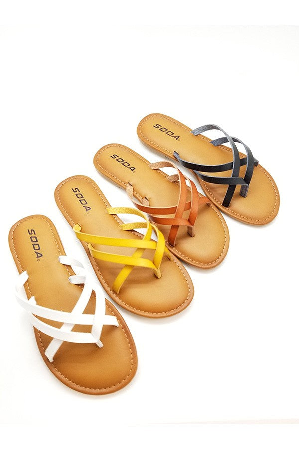 The Basic Everyday Sandals in 2 Colors-R5SS8