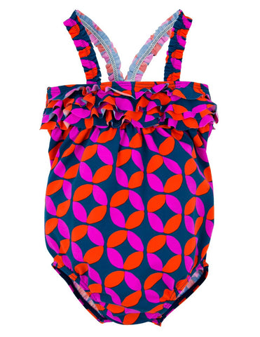 Graphic Lifesavers Swimsuit