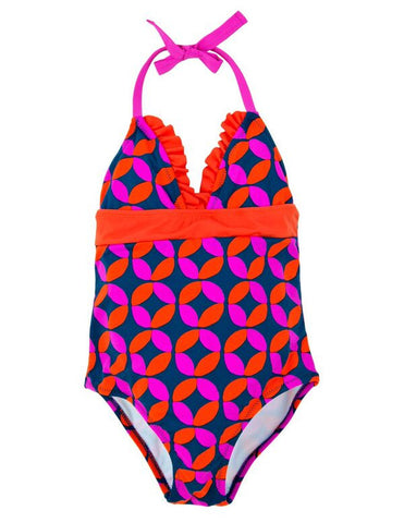 Lifesavers Halter Swimsuit