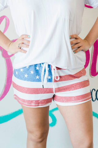 Salvage USA Shorts