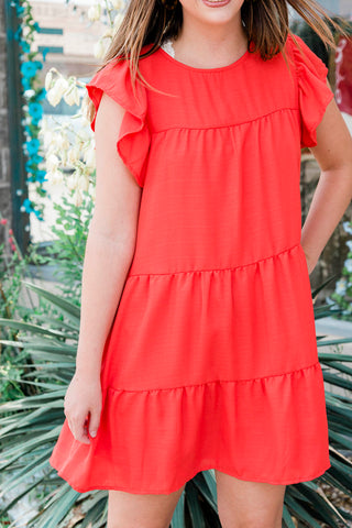The Sweet Solid Dress- 2 Colors