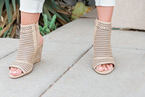 The Claire Peep Toe