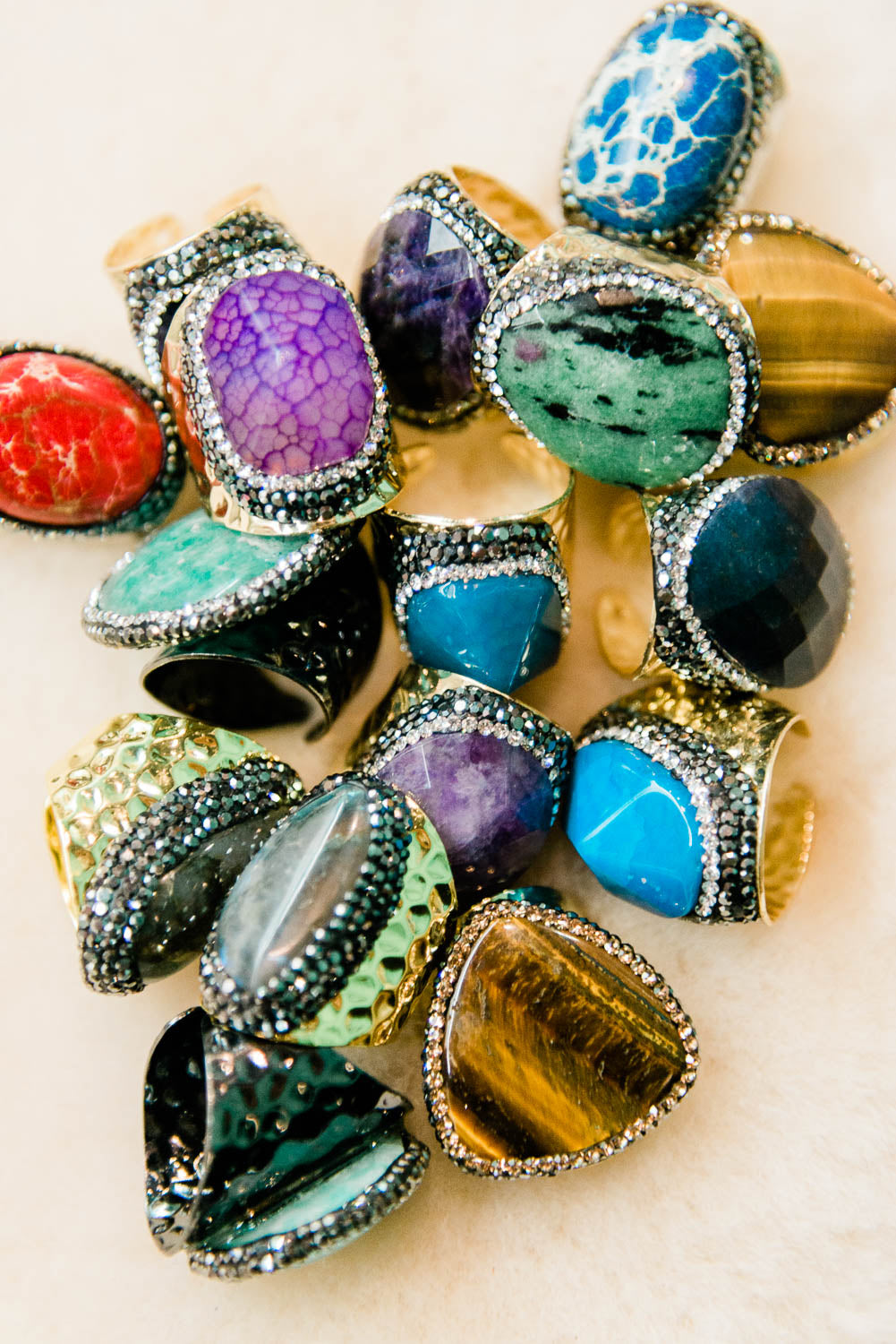 Statement Dome Rings