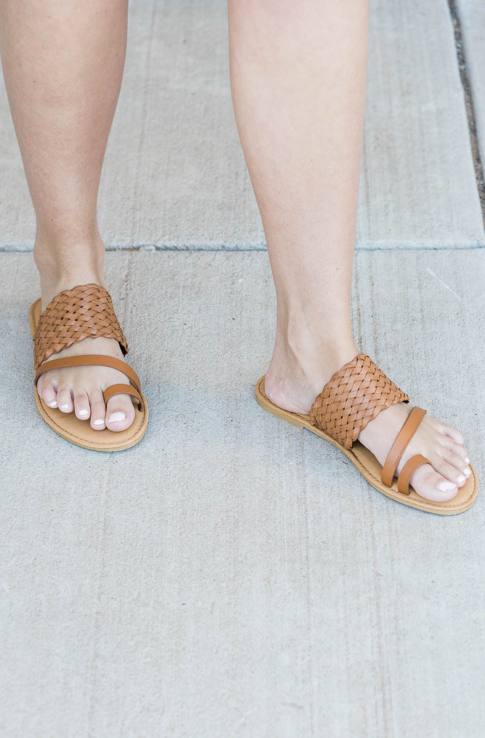 The Parallel Sandals in 2 Colors