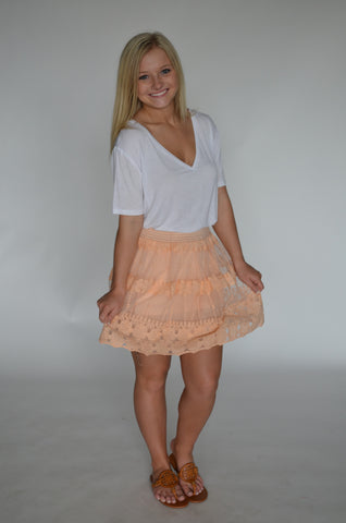 Nashville Lace Skirt