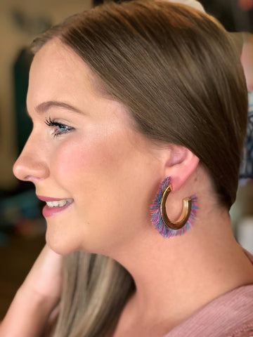 The Ezra Earrings-4 Colors