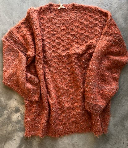 Bells and Rust Sweater
