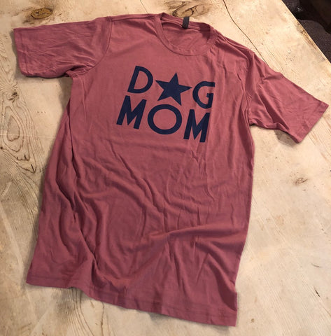 Dog Mom Star Tee