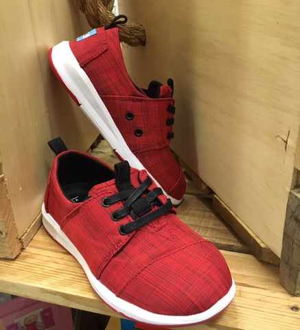 Youth Red Nylon Paseo