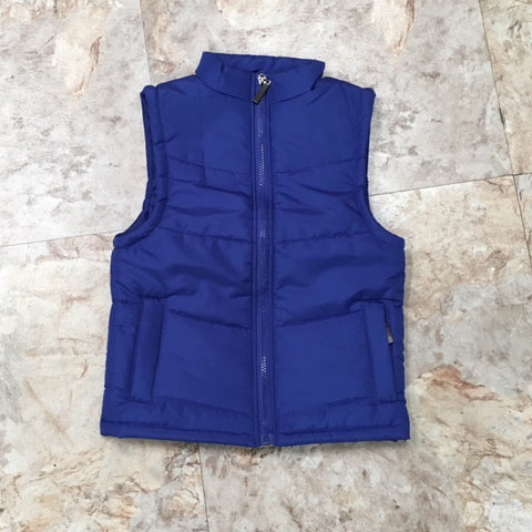 Gail's Puffy Vest - Blue
