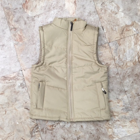 Gail's Puffy Vest - Khaki