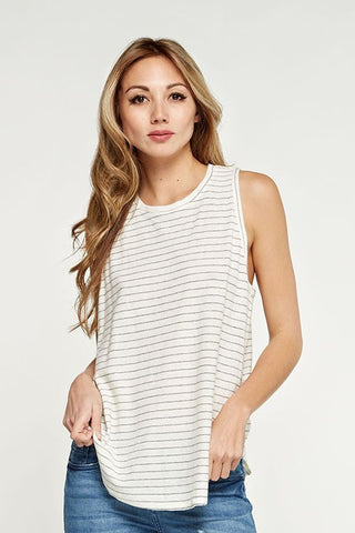 The Vanilla Stripe Tank
