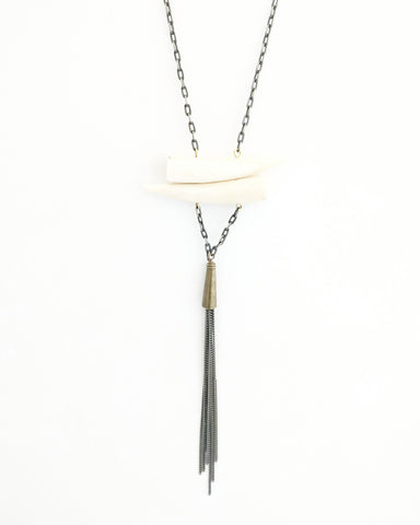 The Ivory Horn Kate Necklace