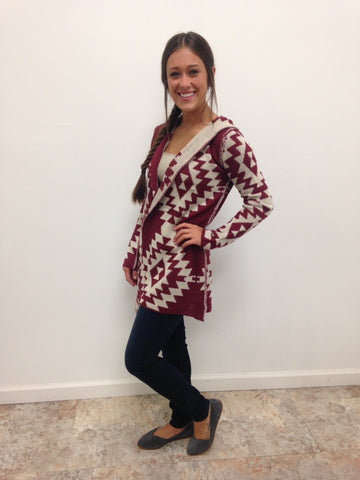 Red Red Wine Cardigan