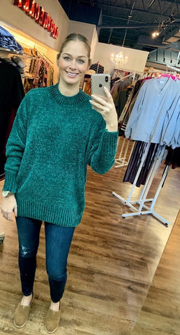 The Perfection Sweater in Green
