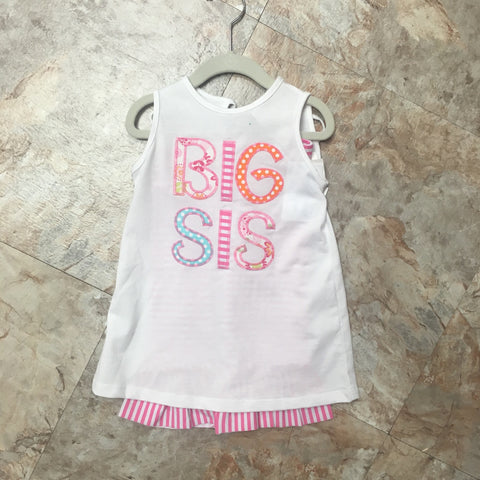 Big Sis T-Shirt and Capri Set