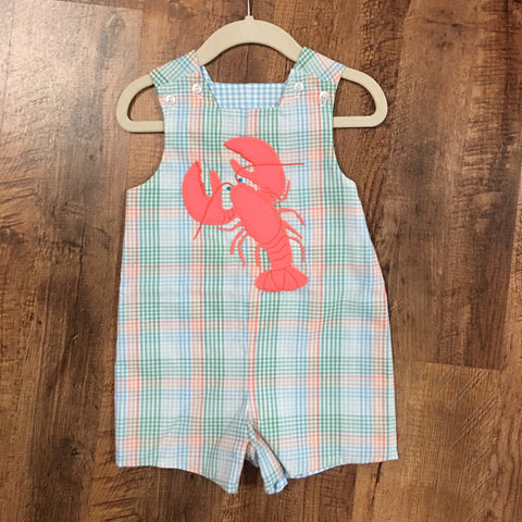 Lobster Reversible Romper