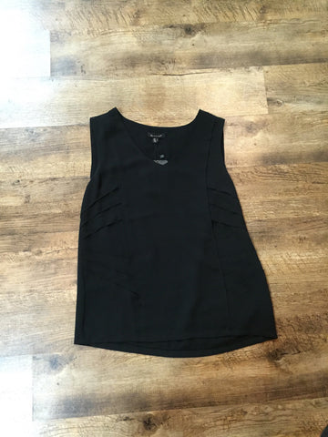 Sleeveless Top Blk