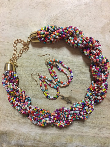 Twist Necklaces-lots of colors