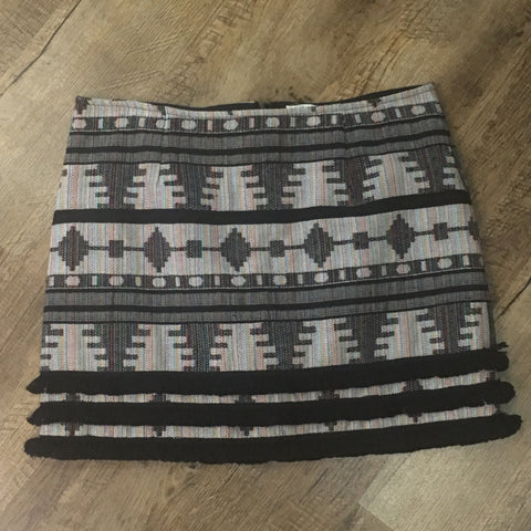 Comanche Fringed Skirt