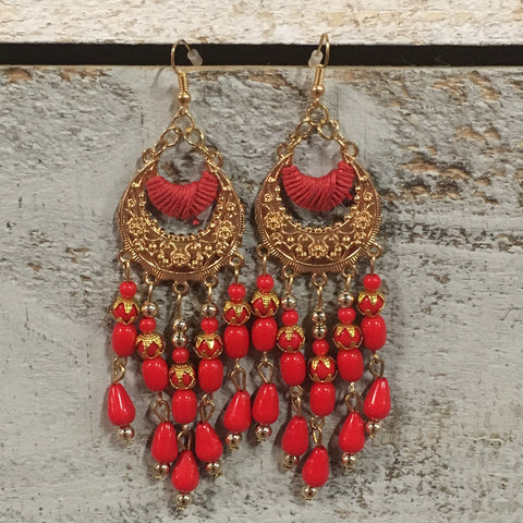Brandie Bead Earrings