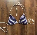 Nautical Triangle Bikini Top