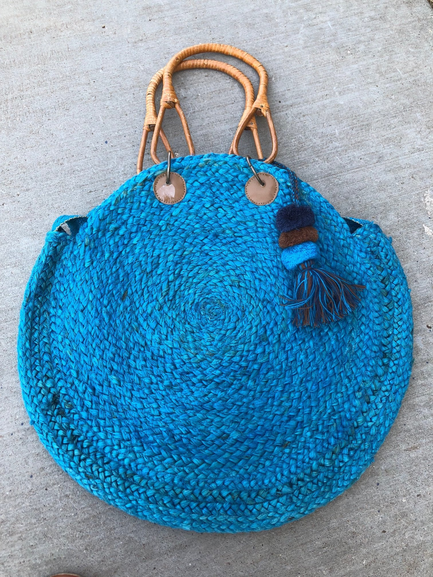 Jute Bucket Bag-2 colors