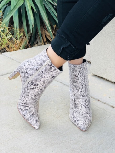 The Erin Snake Bootie