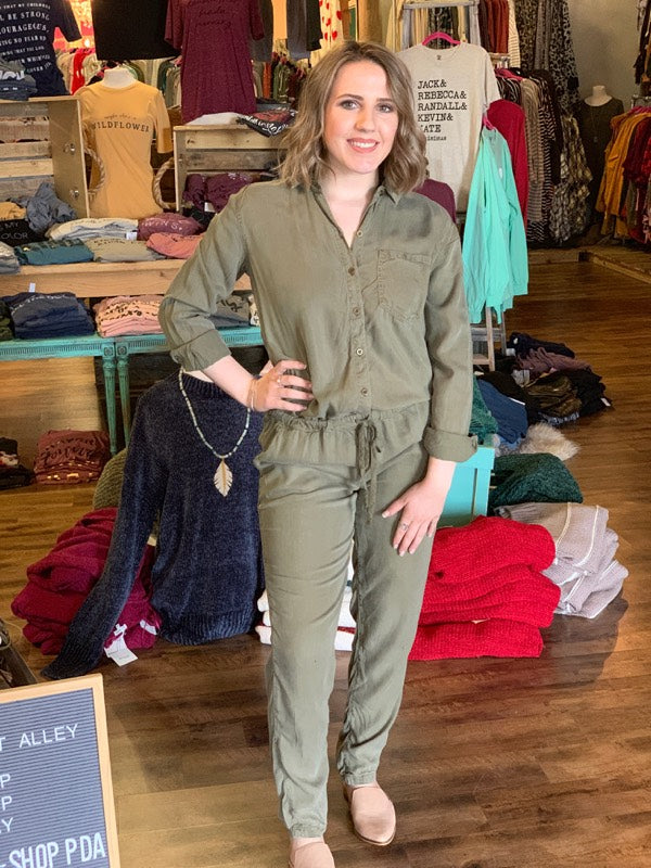 The Olive Edge Jumpsuit
