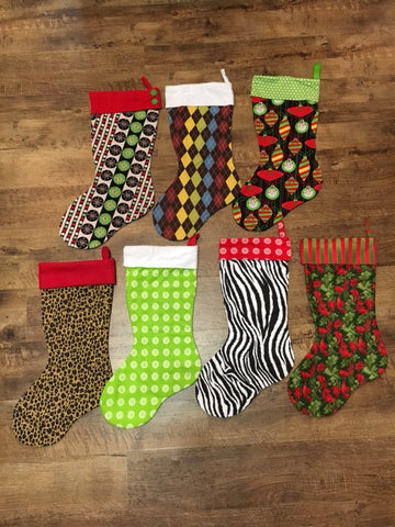 Christmas Stockings - Several Styles