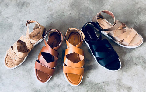 The Gabe Sandals-5 Colors