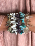 The Gem Spike Bracelet-5 Colors