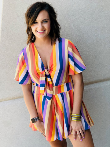 The Carnival Bow Romper