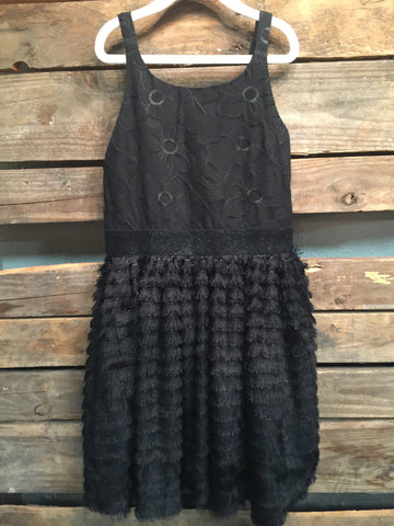 The Little Black Flapper Dress