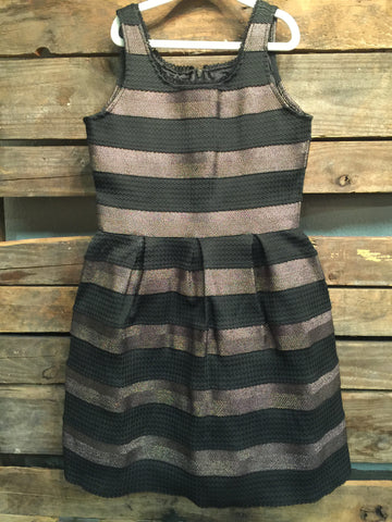 Multi Color Banded Dress