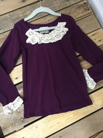 Plum Knit Shirt