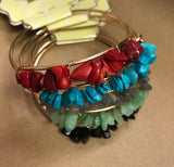 Rock Chip Cuffs-5 Colors
