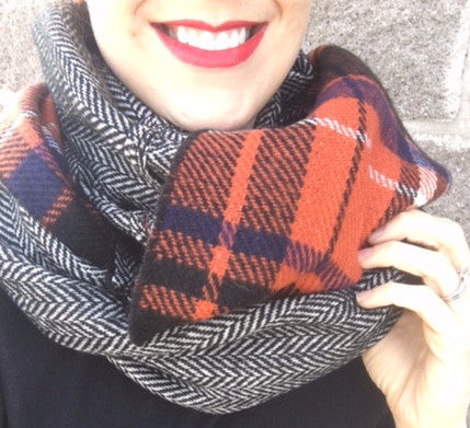 Fall Infinity Scarf
