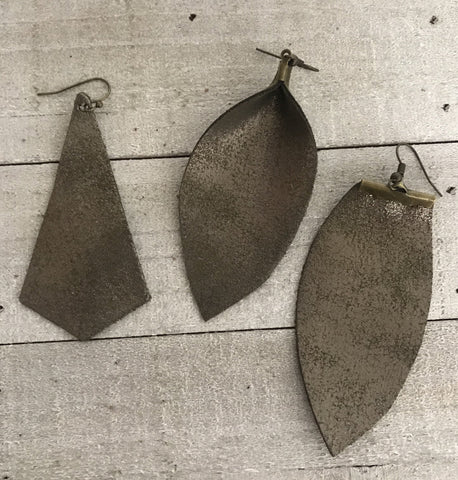 The Biel Earrings-3 Shapes