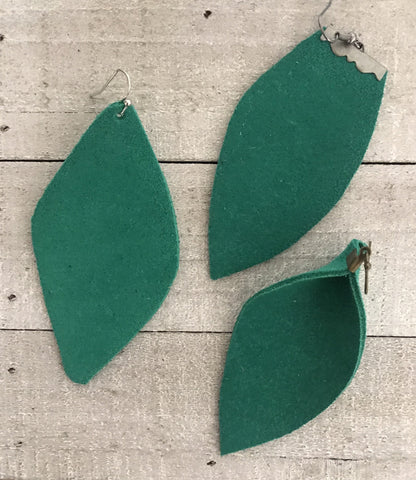The Green Kate Earrings-3 Shapes