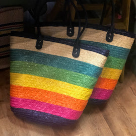 The Cozumel Straw Tote