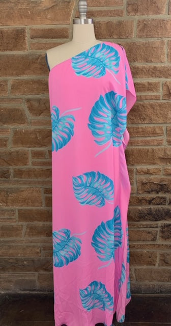 The Palm One Shoulder Maxi
