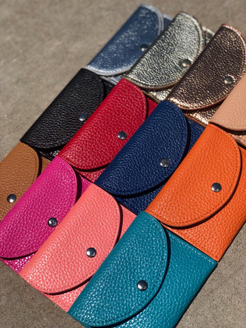 Card Wallets-LOTS of Colors