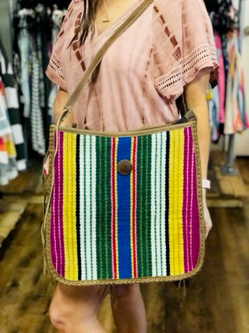 The Serape Stitched Bag