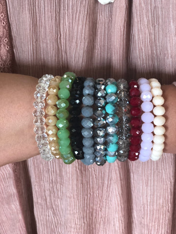 The Crystal Bracelets-11 Colors