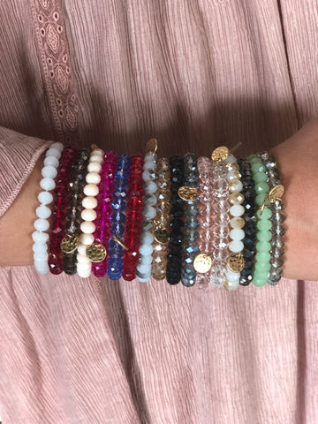 The Jazzy Bracelets - 17 Colors